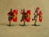 RIG3/A Romans charging with Swords